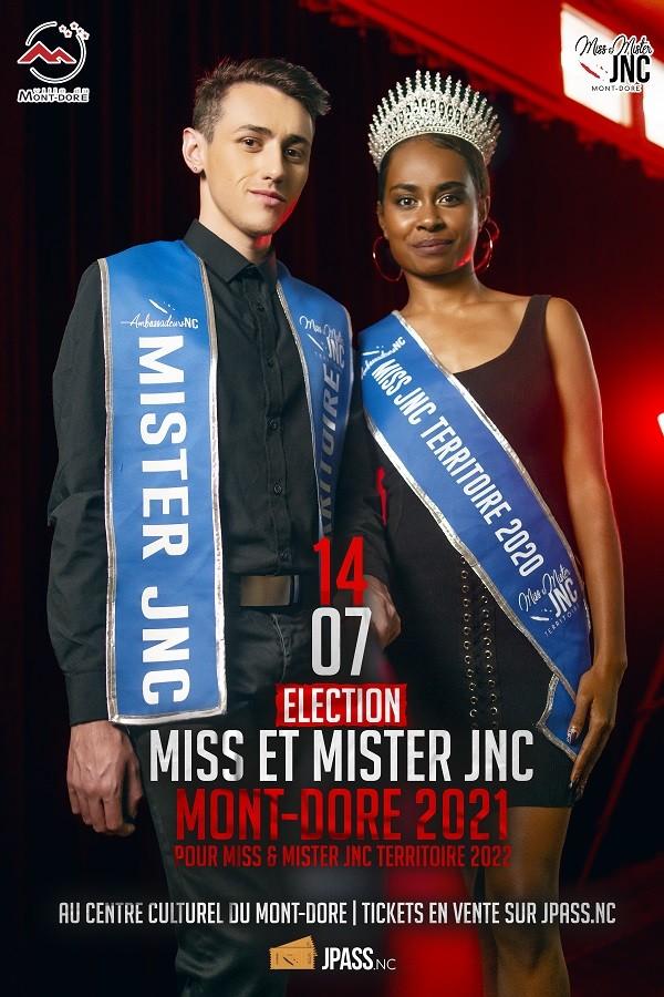 Election de Miss & Mister JNC Mont-Dore 2021